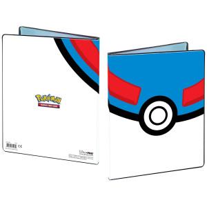 Pokemon pärm 4-pocket Great Ball