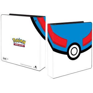 Pokemon Album Great Ball inkl. plastfickor Ultra Pro 85451