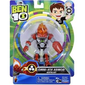 Ben 10 Figur Omni-kix Armor Heatblast