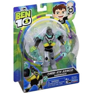 Ben 10 Figur Omni-kix Armor Diamondhead