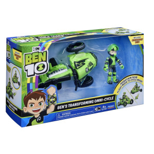Ben 10 Ben´s Transforming Omni-Cycle