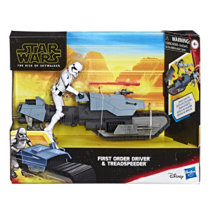 Star Wars First Order Driver & Treadspeeder