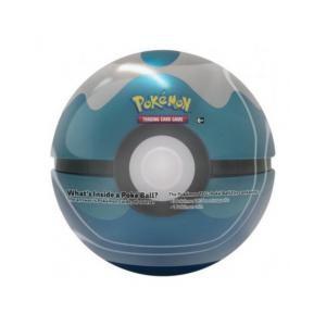Pokemon PokeBall Tin Dive Ball Blå