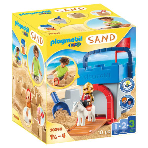 "Playmobil® 1.2.3 Kreativt set ""Sandborg"" 70340"