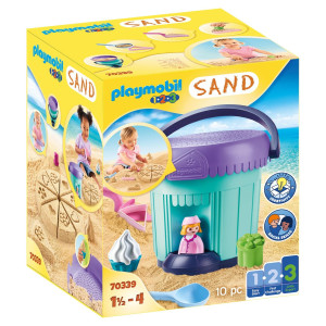"Playmobil® 1.2.3 Kreativt set ""Sandbageri"" 70339"