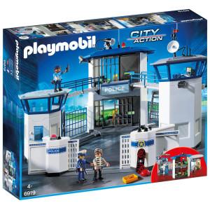 Playmobil® City Action Polishuvudkontor med fängelse 6919