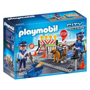 Playmobil® City Action Polisvägspärr 6924