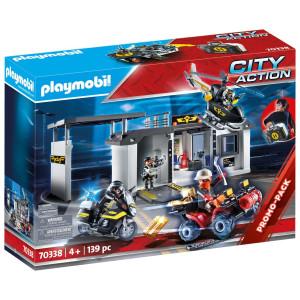 Playmobil® City Action Medtagbar stor central för polisens insatsstyrka 70338
