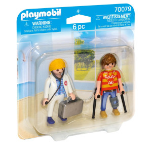 Playmobil® Läkare och patient 70079