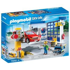 Playmobil® City life Bilverkstad 70202