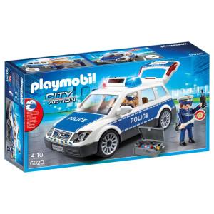 Playmobil® City Action Polisbil med ljus och ljud 6920