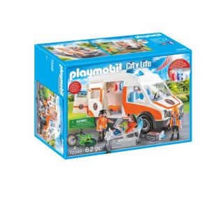 Playmobil® City Life Ambulans med blinkande ljus 70049