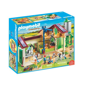 Playmobil® Country Bondgård med djur 70132