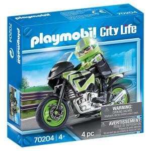 Playmobil® City life Motorcykel 70204