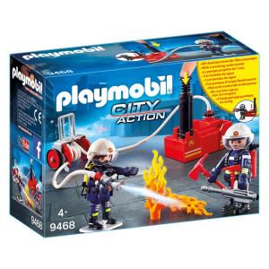 Playmobil® City Action Brandmän med vattenpump 9468