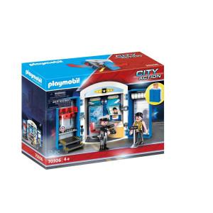 "Playmobil® City Action Leklåda ""På polisstationen"" 70306"
