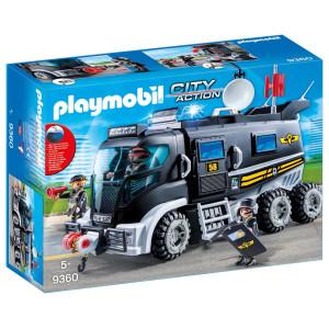 Playmobil® City Action Insatsfordon med ljus och ljud 9360