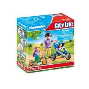 Playmobil® City Life Mamma med barn 70284