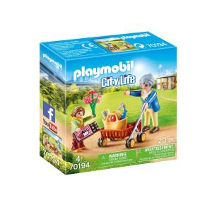 Playmobil® City life Mormor med rullator 70194