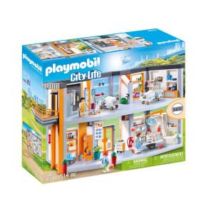 Playmobil® City life Stort sjukhus med möbler 70190