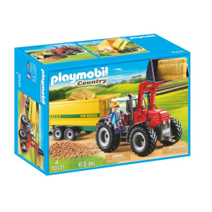 Playmobil® Country Traktor med släp 70131