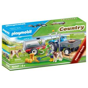 Playmobil® Country Transporttraktor med vattentank 70367