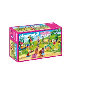 Playmobil® Dollhouse Barnens födelsedag med clown 70212