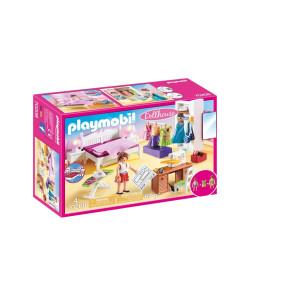 Playmobil® Dollhouse Sovrum med syhörna 70208