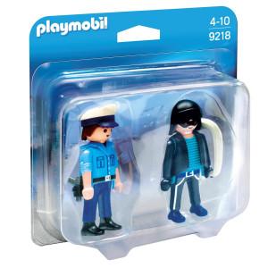 Playmobil® DuoPack Polis och inbrottstjuv 9218