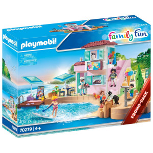 Playmobil® Family Fun Glasscafé vid hamnen 70279