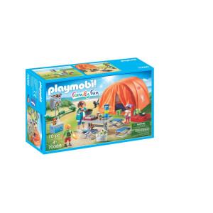 Playmobil® Family Fun Campingtur med stort tält 70089