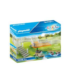 Playmobil® Family Fun Utbyggnadsset upplevelsezoo 70348
