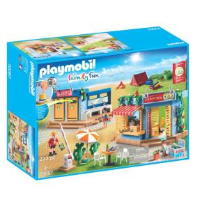 Playmobil® Family Fun Stor campingplats 70087