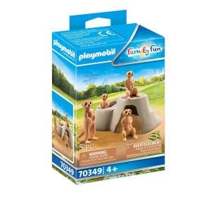 Playmobil® Family Fun Surikatkoloni 70349