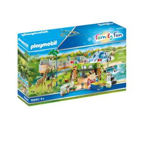 Playmobil® Family Fun Mitt stora upplevelsezoo 70341
