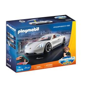 Playmobil® PLAYMOBIL:THE MOVIE Rex Dashers Porsche Mission E 70078