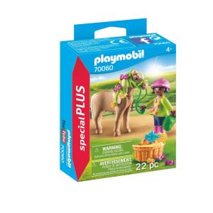 Playmobil® Special Plus Flicka med ponny 70060