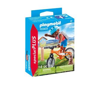 Playmobil® Special Plus Mountainbikeåkare cyklar i bergen 70303