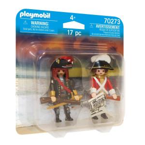 Playmobil® Piratkapten och rödrock 70273