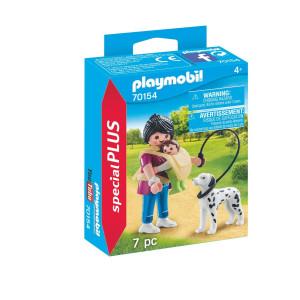 Playmobil® Special Plus Mamma med baby och hund 70154