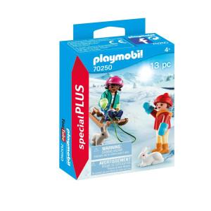 Playmobil® Special plus Barn med släde 70250