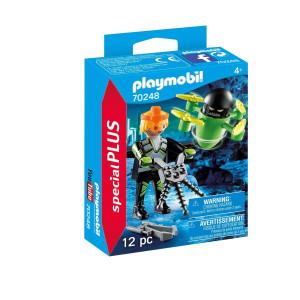 Playmobil® Special plus Agent med drönare 70248