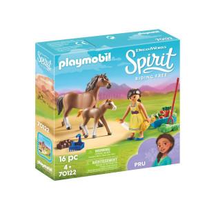Playmobil® Spirit Pru med häst och föl 70122