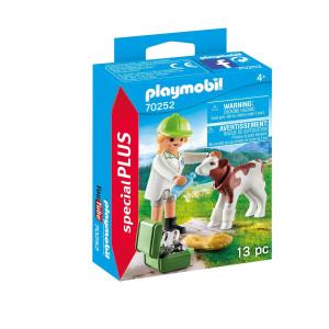 Playmobil® Special plus Veterinär med kalv 70252