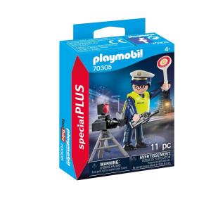 Playmobil® Special plus Polis med radaranläggning 70305