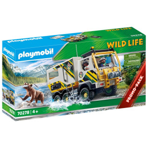 Playmobil® Wild Life Expeditionslastbil 70278