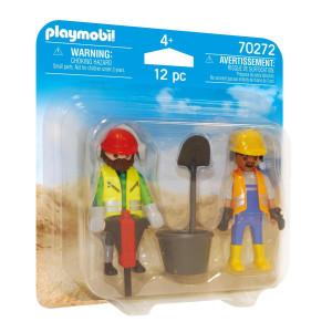 Playmobil® Två byggarbetare 70272
