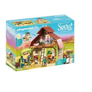 Playmobil® Spirit Ladugård med Lucky, Pru och Abigail 70118