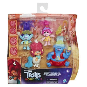 Trolls World Tour Figurpaket