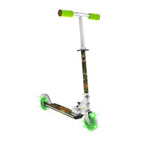 Dinosaurie Scooter med Blinkande hjul